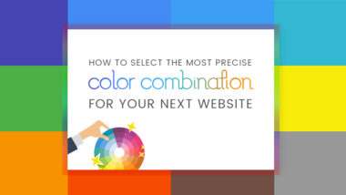 How to Select the Most Precise Color Combination for your Next Website?