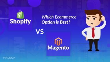 [Infographic] Which is Better Option for E-Commerce Website Development: Shopify or Magento?