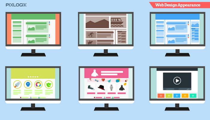 Web Design Appearance