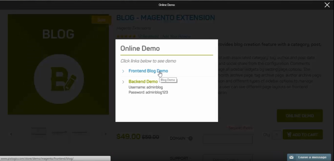 Magento Blog Extension: A Detailed Take on Pixlogix Blog Module