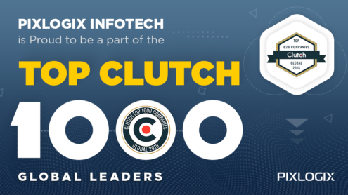 Pixlogix proud to be named on Clutch 1000 Global leaders