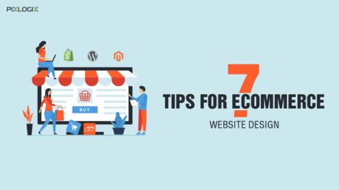 Top 7 Tips for creating outstanding eCommerce website design