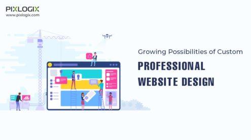 Growing Possibilities of Custom Professional Website Design