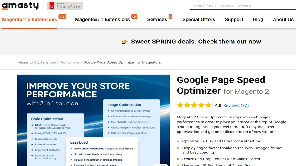 Google Page Speed Optimizer for Magento 2