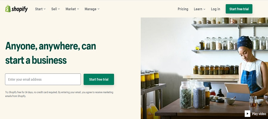 Shopify - Ecommerce Platforms