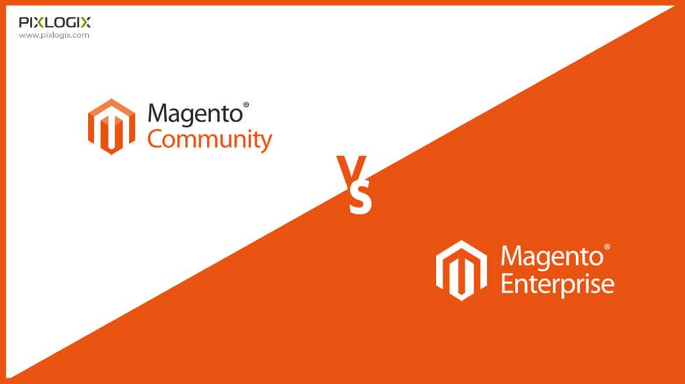Magento community vs Magento enterprise